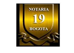 Notaría 19 . Servicios notariales Bogota