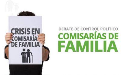 LAS COMISARIAS DE FAMILIA